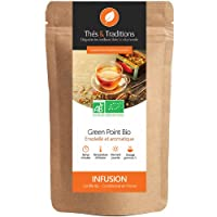 Thés & Traditions - Green point: une tisane rooibos bio aux fruits trés originale | 100g
