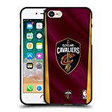 Head Case Designs Offizielle NBA Banner Cleveland Cavaliers Soft Gel Hülle Schwarz für Apple iPhone 7/iPhone 8
