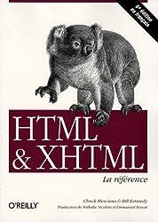 HTML et XHTML : La référence