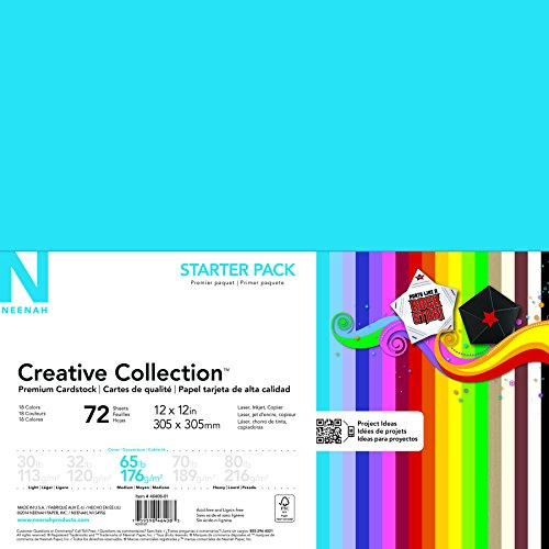 7080eb5e0f5a Neenah papel 46408 – 02 Creative Collection cartulina Starter Kit