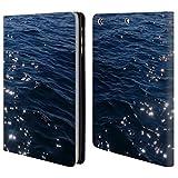 Head Case Designs Offizielle PLdesign Funkelnde Meereswellen Wasser Brieftasche Handyhülle aus Leder für iPad Mini 1 / Mini 2 / Mini 3