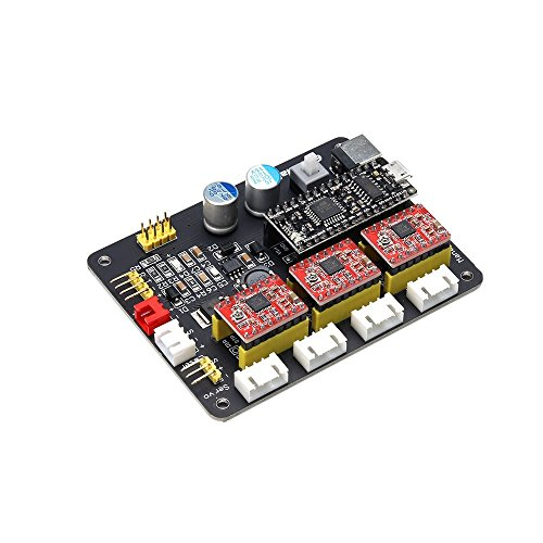 EleksMaker® Mana 3 Axis Stepper Motor Controller Driver Board For DIY Laser Engraver (3-phasen-motor-spannung)