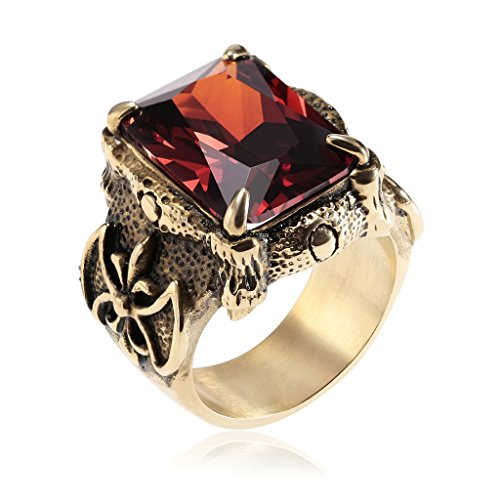 epinki-mens-stainless-steel-promise-ring-red-cubic-zirconia-cz-band-gold-comfort-fit-size-8