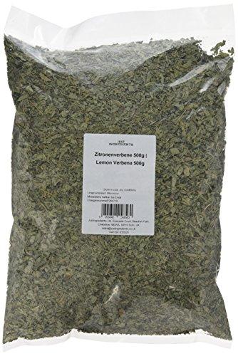 JustIngredients Zitronenverbene, Lemon Verbena, 1er Pack (1 x 500 g)