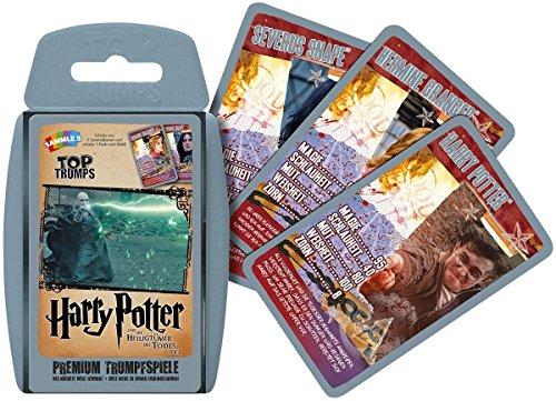 Harry Potter - Top Trumps Harry Potter und die Heiligtümer des Todes Teil 2 - Kartenspiel | Deutsch - 2 Heiligtümer Des Todes Teil