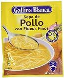 Gallina Blanca - Sopa deshidratada de pollo con fideos finos - 71 g