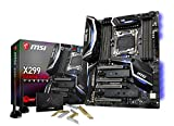 MSI X299 Gaming Pro Carbon AC Carte mère Intel Core X-Series Socket LGA2066 SATA