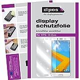 dipos I 2X Schutzfolie klar passend für HTC 10 Evo Folie Bildschirmschutzfolie