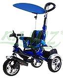 Triciclo Triciclo Deporte KR03 AIR a partir de 1 - 5 anos - triciclo de ninos - Primera bici - bicicleta de los ninos - Bicicleta de bebé - Ninos vehículos - AZUL