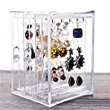 Livsmart Acrylic Jewellery Organiser Box Jewellery Display Stands Transparent Jewellery Storage Drawer, Jewelry