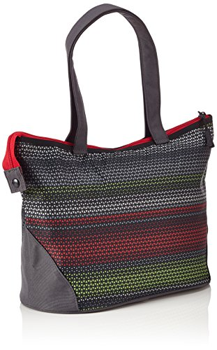 4YOU Sporttasche Igrec  shopper 2in1 Mehrfarbig Girls Stripes