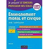 Enseignement moral et civique - Professeur des écoles - Oral, admission - CRPE 2017