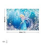 Disney Frozen Regina di ghiaccio Elsa quadri su tela (ppd245cvfw), O4 - 60cm x 40cm
