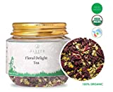 #3: Jarved Royal Floral Delight: Chamomile, Hibiscus and Rose Tea. Makes 15 Cups. Special Introductory Price at Rs 199