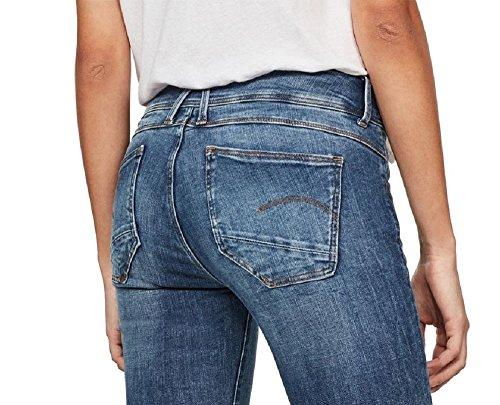 G-STAR RAW Damen Jeans Lynn D-Mid Super Skinny Wmn