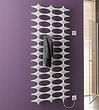 Ideos-E Designheizkörper, mit Elektro-Set WFC rechts, 76 x 190 cm, weiß RAL 9016, IDE101900752HXK