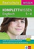 Klett Komplett Wissen Englisch Realschule Klasse 5-8: Der gesamte Schulstoff