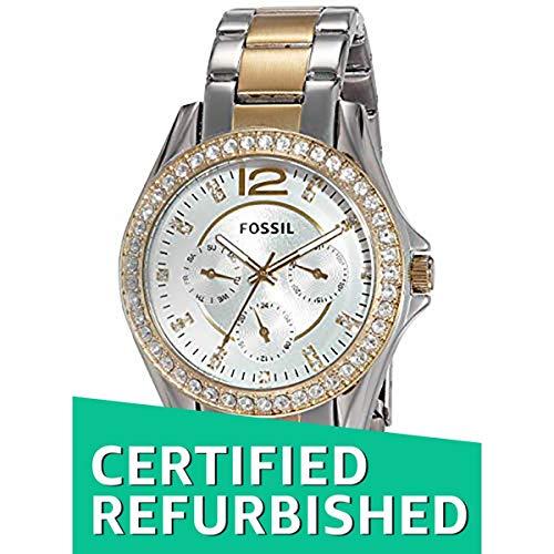 (Renewed) Fossil Riley Analog Silver Dial Women's Watch - ES3204#CR