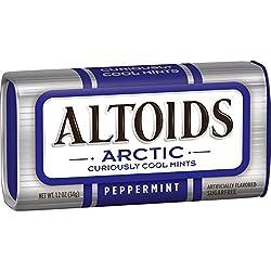 Altoid Arctic Peppermint Sugarfree Cool Mints Tin, 34g