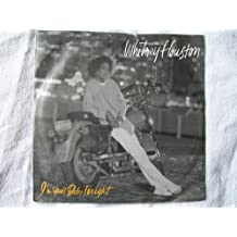 """WHITNEY HOUSTON I'm Your Baby Tonight 7"""" 45"""