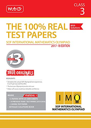 The 100% Real Test Papers (IMO) Class 3