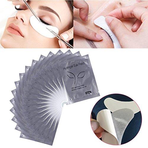 100 Pcs Extensiones pestañas Pistas ojo profesional