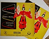 "Gilbert & Sullivan - The Mikado - 12"" LP Double 1958 - Decca LK 4010/4011 - UK Press"