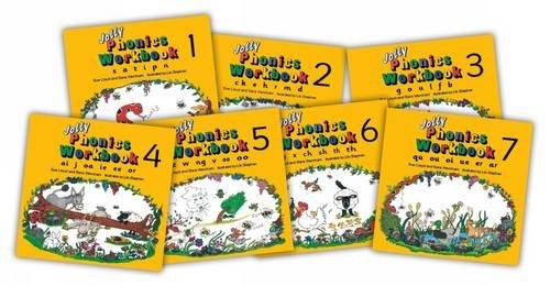 Jolly Phonics Workbooks (juego de 7 libros)