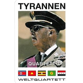 Unbekannt Tyrannen Quartett (Kartenspiel)