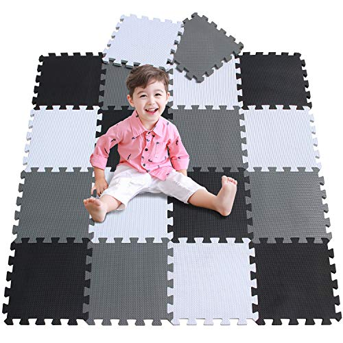 meiqicool Baby Playmats Floor Gy...