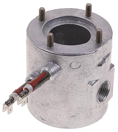Durchlauferhitzer 230V 800W ø 80mm Anschluss Flachstecker 6,3mm Höhe 86mm