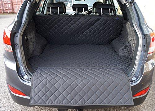 Preisvergleich Produktbild Hyundai ix35(2010-present) gesteppt Wasserdicht Kofferraumwanne (schwarz)
