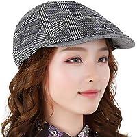 Sombrero de los Hombres Sombrero Casual Salvaje Cálido Sombrero Moda de Invierno Sombrero de Pato Gorra de béisbol (Color : B, Tamaño : S)