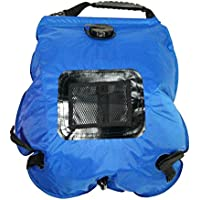 docooler ligero portátil para uso en exteriores Solar camping ducha bolsa con manguera extraíble y conmutable cabezal de ducha
