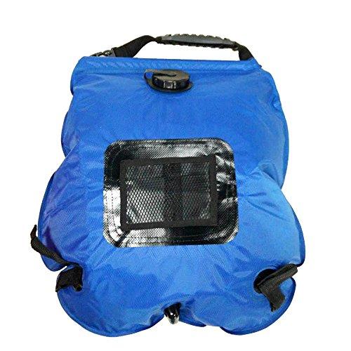 Docooler Doccia Borsa da Campeggio Solare Esterna Portatile Leggera Doccia Bag con Tubo Estraibile e Soffione Commutabile