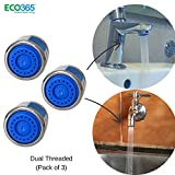 Neosystek Eco- Friendly Water Saving Aerator with Dual Threaded Shell 3 LPM Shower