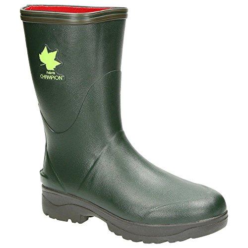 Nora - Captain, Stivali di gomma Unisex – Adulto verde caccia