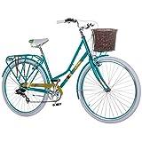 28 Zoll Chill Damenrad Citybike Fahrrad Hollandrad Damenfahrrad 7 Gang, Rahmengrösse:19 Zoll, Farbe:türkis