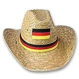 WM / EM Fanartikel Deutschland Sortiment in großer Auswahl (1x Cowboyhut)
