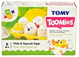 Toomies Hide & Squeak Eggs Preschool Toy - suitable for 6 months+