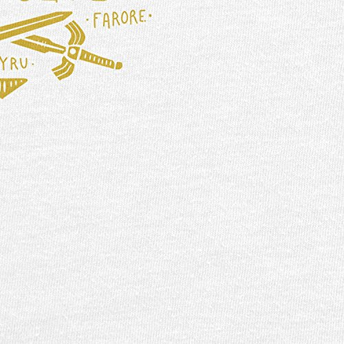 Planet Nerd - Triforce Hero Club - Damen T-Shirt Weiß