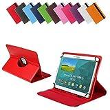 Bralexx Universal Tablet-Tasche für ASUS MeMO Pad 10 (26,3 cm (10 Zoll)) rot