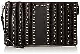 immagine prodotto Michael Kors - Brooklyn Grommet Large Leather Wristlet, Cartella Sottobraccio Donna