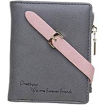 BIGBOBA Pequeñas Cartera Bolsa Mujer Mini Monederos- Elegante Mini Monederos Lindas Bolsas Monederos Embrague Zipper