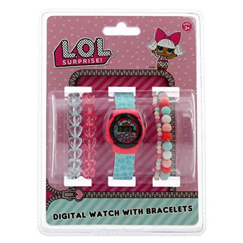 L.O.L. Surprise Mädchen Digital Uhr mit Plastik Armband 22050