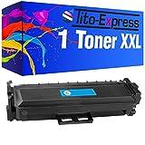 PlatinumSerie® Toner-Patronen XXL kompatibel für HP Color LaserJet Pro M 377 DW M452 NW M477 FNW CF410X/A - CF413X/A ((06) Toner Cyan)