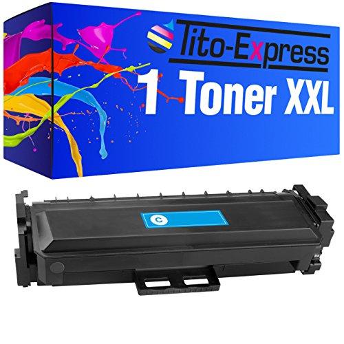 Preisvergleich Produktbild PlatinumSerie® Toner XXL Cyan kompatibel für HP CF411X CF411A Color LaserJet Pro MFP M377DW M452DN M452DW M452NW M477FDN M477FNW M477FDW