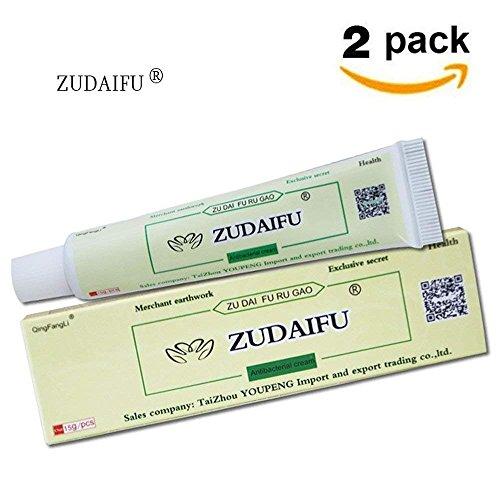 Antibakterielle Salbe Cremes - ZUDAIFU 2 Pack natürliche Kräutercremes für Psoriasis und Ekzem Pruritus Behandlung, Psoriasis Ekzem...