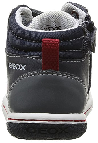 Geox B Flick Boy Baby-Jungen Lauflernschuhe Blau (Bleu (Dk Navy/Dk Grey))