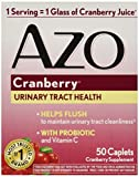 Azo Cranberry Tabs, 50 Ct by Amerifit Nutrition